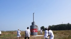 [WATCH]: Russiam YouTuber Uses 10,000 Liters of Coke and Baking Soda For the Biggest Coca-Cola Eruption Ever