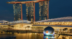 Science Times - That Floating Orb on Singapore's Marina Bay Is the New Apple Store