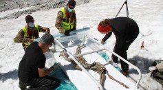 Science Times - 400-Year-Old Frozen Goat Offers Insight on Ice Mummies