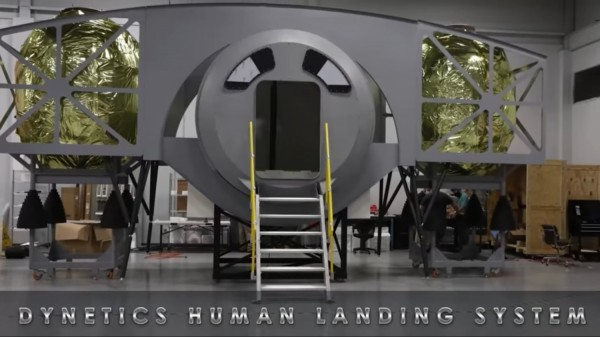 Dynetics Unveils Lunar Lander for Future Artemis Mission