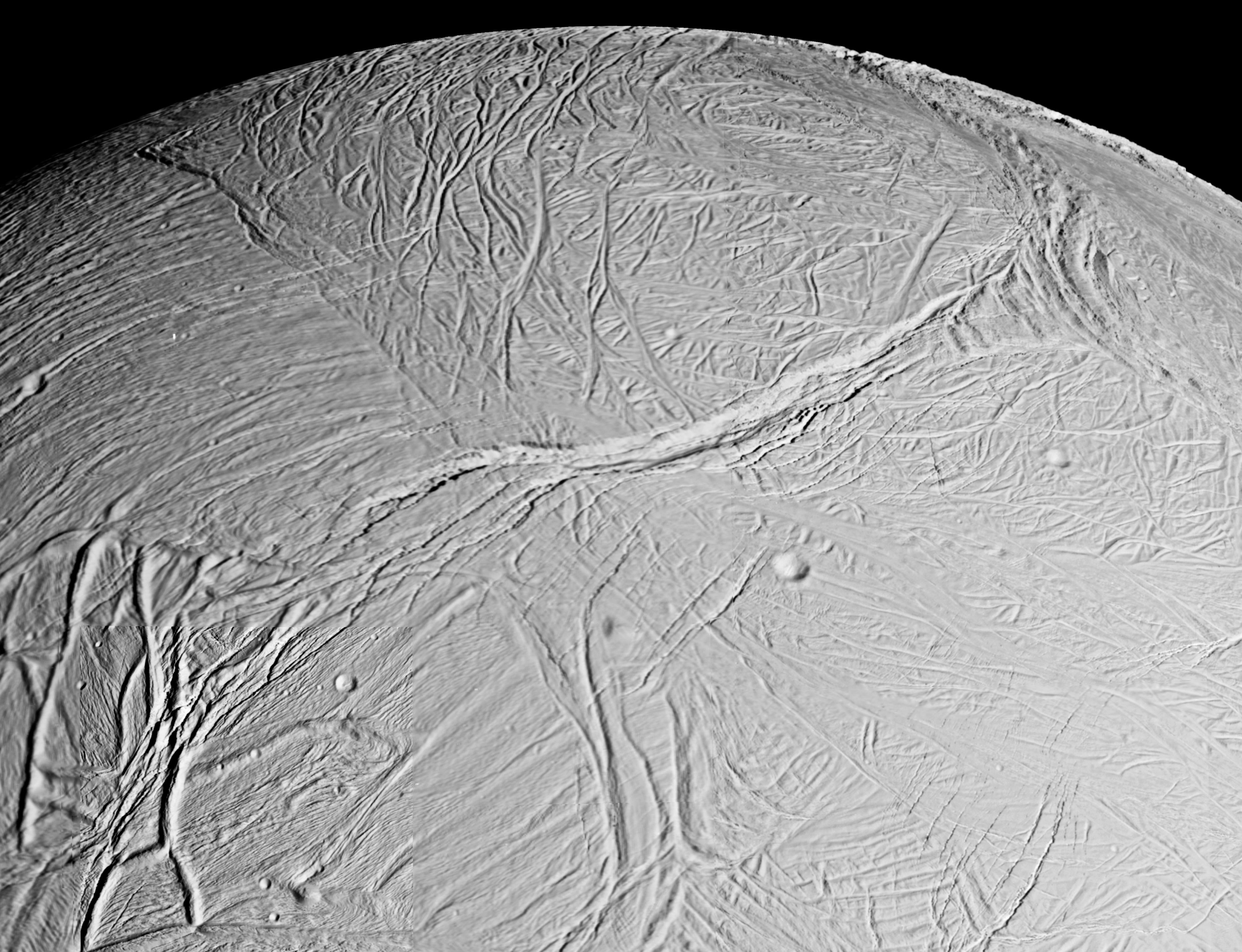 NASA on Enceladus - Infrared Mapping Reveals Fresh Ice on Northern Hemisphere - Science Times
