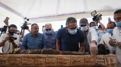 Coffins found in Saqqara