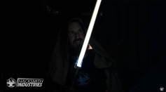 LOOK: The World's First Real Retractable Lightsaber Inspired From Star Wars
