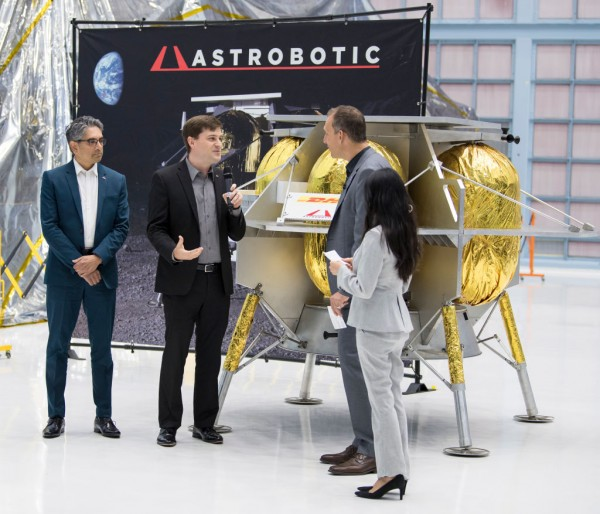 Commercial Lunar Payload Services Announcement