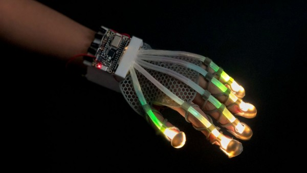 Robotic Glove Uses Light To Measure the Sense of Touch