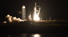 SpaceX And NASA Launches Crew Dragon Capsule With Four Astronauts To The International Space Station