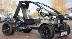 Chameleon: Europe's First Working 3D-Printed Electric Vehicle