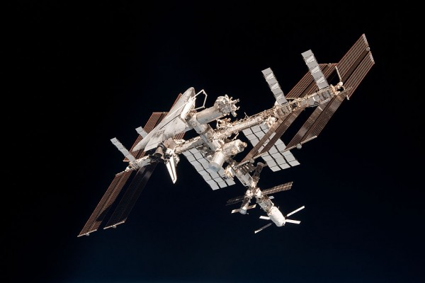 Science Times - Endeavour Orbits Earth Docked To International Space Station