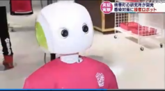 Robovie Employed At A Japanese Shop To Tell Customers to Wear Face Masks