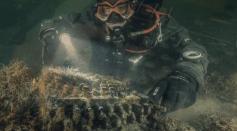 Divers Found Nazi Enigma Machine in Baltic Sea
