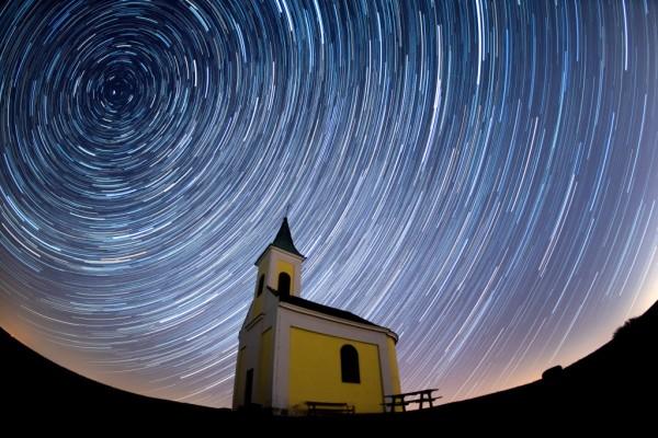Lyrids Meteor Shower Over Austria