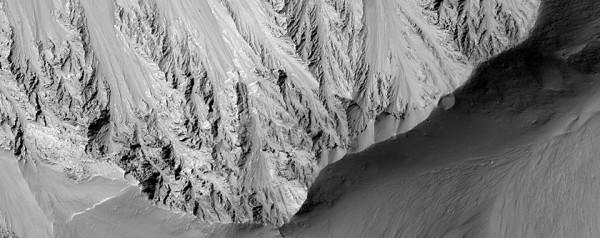 HiRISE imágenes de Valles Marineris