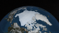 2013 Daily Arctic Sea Ice from AMSR2 May - September 2013 STILL IMAGE