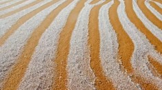 Sahara Desert Experienced Snow For the 4th Time in 42 Years!