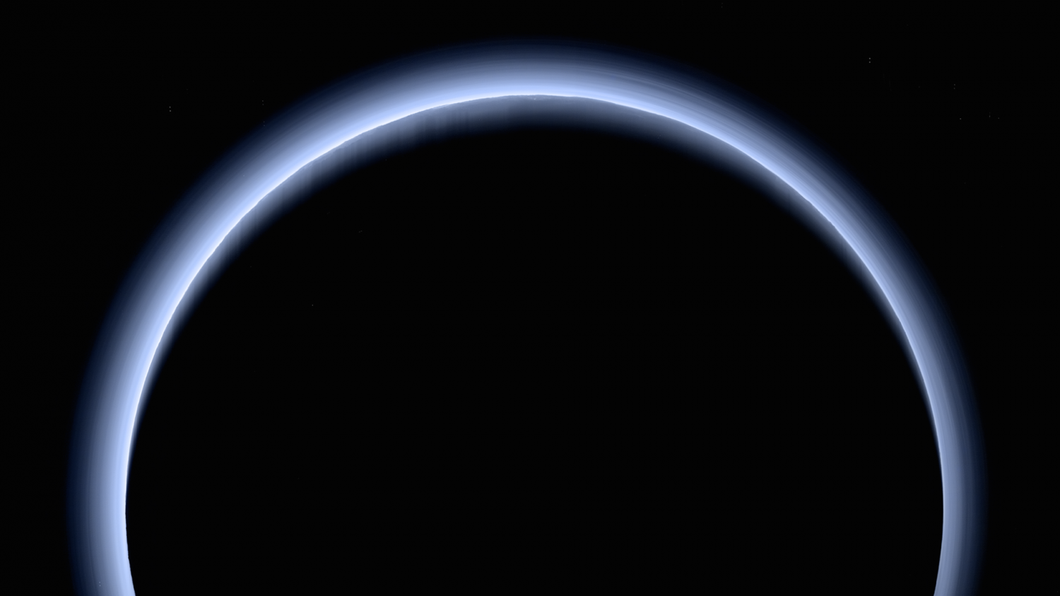 Pluto`s Blue Haze Seems Supernatural But is Actually...