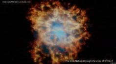 Flythrough Of Crab Nebula
