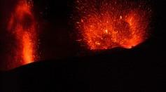Mount Etna Explodes
