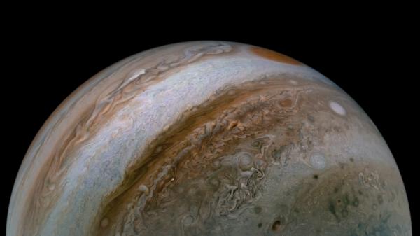 NASA-Juno/Jupiter-Jet Stream
