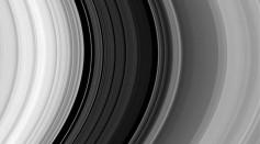 Saturn's Rings Courtesy of Cassini Spacecraft
