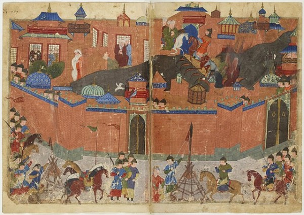 A Painting of the 1258 AD Siege of Baghdad