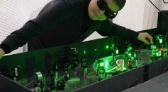 First-Ever Laser Cooling of Antimatter Reported
