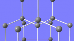 Crystal Structure for Lonsdaleite, or Hexagonal Diamond