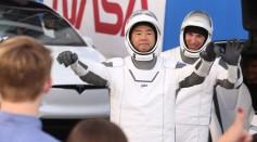 Japanese Astronaut Siochi Naguchi