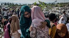 Indonesians Mark Palu Earthquake