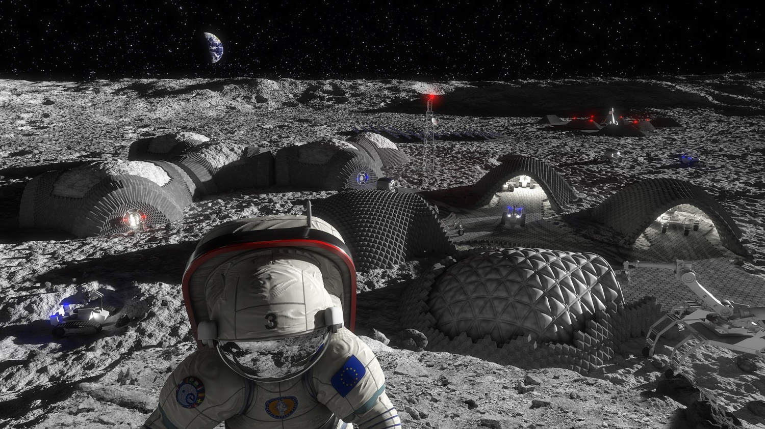 Living on the Lunar Surface and the Red Planet: Challenges Humans May Face