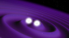 Colliding neutron stars ESA385307