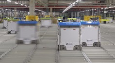 A Fleet of 3,000 Robots Is Working in Ocado's Automated Warehouse Making Online Grocery Faster
