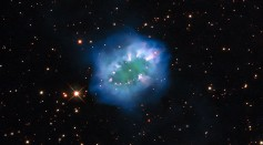 A New Image of the Necklace Nebula Captured by the Hubble Space Telescope