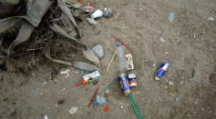 Tourists Leave Mountains Of Plastic Waste On Greek Beaches