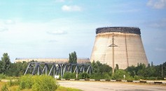 Chernobyl nuclear plant in Ukraine.