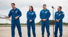 SpaceX Crew-2 Crew Arrival
