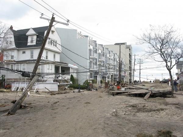 Hurricane Sandy Rockaway