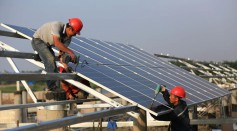 40MW Solar Power Plant Under Construction In Huaian