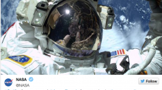 @Astroterry's First Spacewalk Aboard the ISS