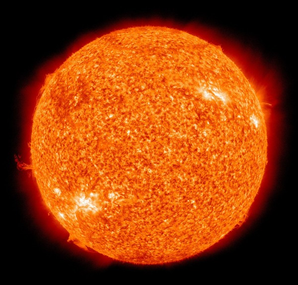The Sun by the Atmospheric Imaging Assembly of NASA's Solar Dynamics Observatory