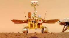 Science News - Mars Selfie: China Captures Coolest Photos of the Red Planet