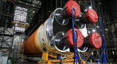 Space Launch System: NASA Finished Assembling Its First Megarocket to Carry Humans to the Moon