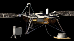 Science Times - NASA's InSight Mars Lander Gets Much-Needed Dust Cleaning, Results in Power Production Boost