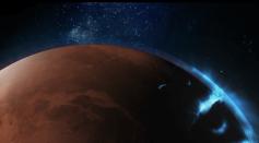 Emirates Mars Mission Captures Global Images of Mars' Discrete Aurora