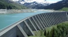 gray-dam-under-blue-sky-57402
