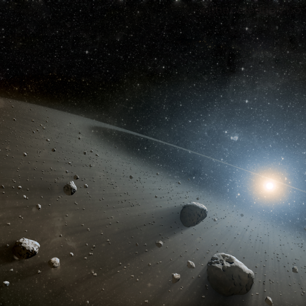 Two Mysterious Red Rocks Discovered in Asteroid Belt Between Mars and Jupiter That May Hold Clues on Solar System's History