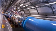 Views of the LHC tunnel sector 3-4