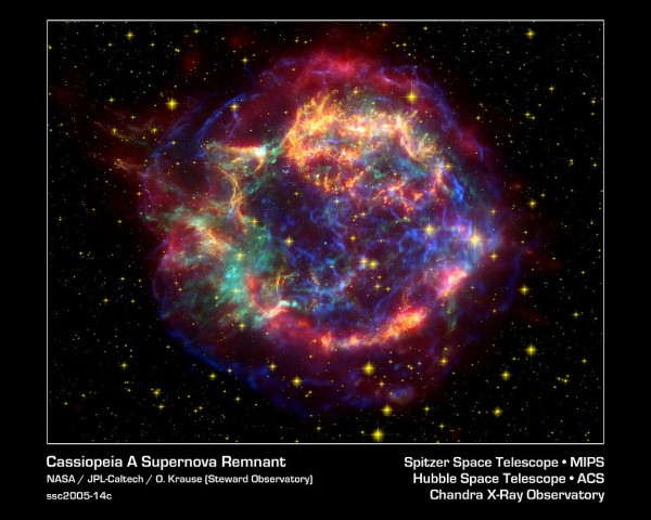 Cassiopeia A: NASA Shares Stunning Photo of A 300-Year-Old Remnant of A Supernova