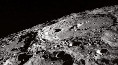 Terraced Wall Crater on the Lunar Limb