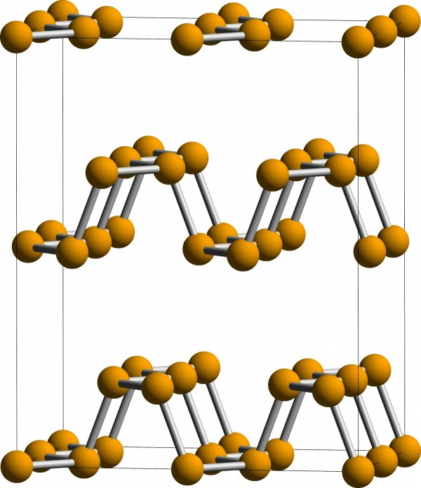 A Unit Cell of BP Nanomaterials in the CMCA Spacegroup