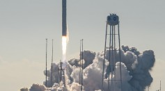Cygnus Cargo Ship Launched to ISS Atop Northrop Grumman Antares Rocket from Virginia